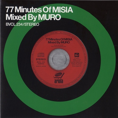 77minutes of misia mixed by muro.jpg